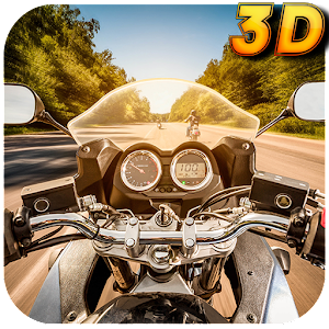 Hack City Moto Driver 3D game