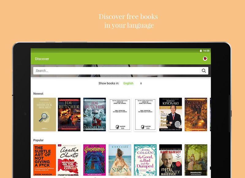 Media365 Book Reader Screenshot 17
