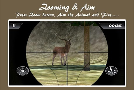 3D Sniper Jungle Hunting, Deer - screenshot