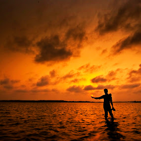 Give me Some Sunshine by Fotosutra - a PRASANTA SINGHA photography - Landscapes Sunsets & Sunrises