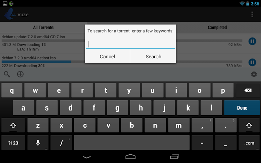 Vuze Torrent Downloader screenshot 7