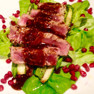 Seared Sesame Soy Ahi Tuna