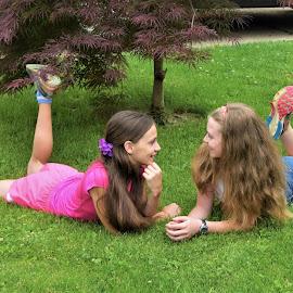 Sister secrets by Sarah Maria Bagay - Babies & Children Children Candids
