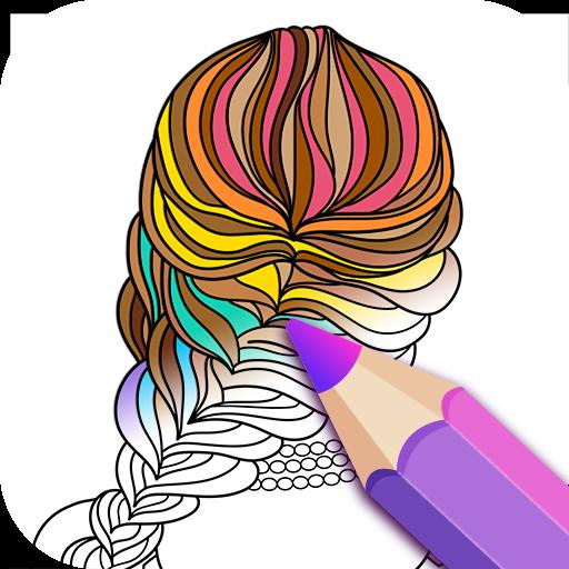 ColorFil - Adult Coloring Book (app)
