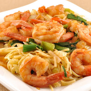 Sichuan Pepper Shrimp with Noodles