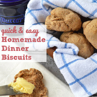 Easy Homemade Dinner Biscuits