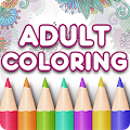 Adult Coloring Book Premium