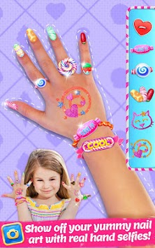 Candy Nail Art - Sweet Fashion APK screenshot thumbnail 1