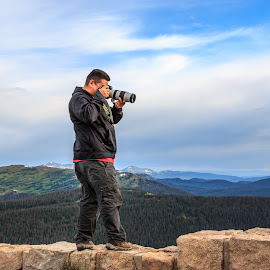 Shooting On The Edge by Kathy Suttles - People Street & Candids