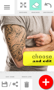 App Tattoo my Photo 2.0 APK for Kindle