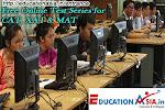 Free Online Test Series for CAT, XAT & MAT