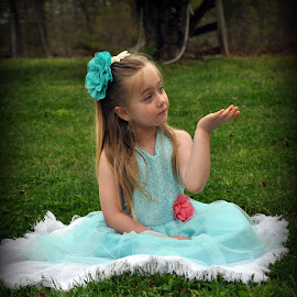 by Tammy Price - Babies & Children Children Candids ( easter, girl, wedding, green, teal, portrait )