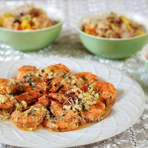 Shrimps with Lemon-Butter-Garlic Sauce