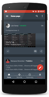 Dark Stock Theme CM12.1 CM13- screenshot thumbnail
