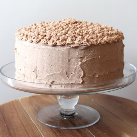 Chocolate Espresso Cake with Nutella Frosting