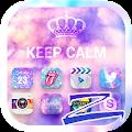 Free Download Keep Calm Theme-ZERO Launcher APK for Blackberry