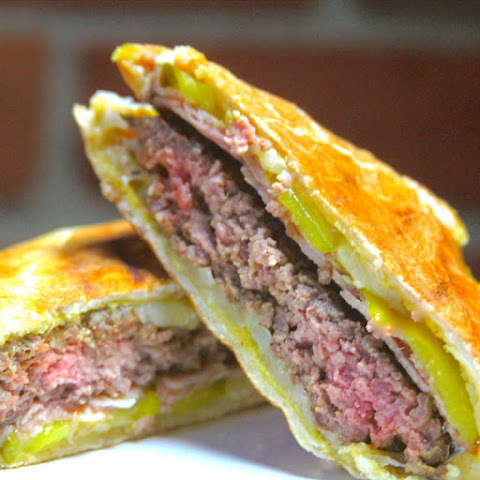 Pressed Cuban Burger