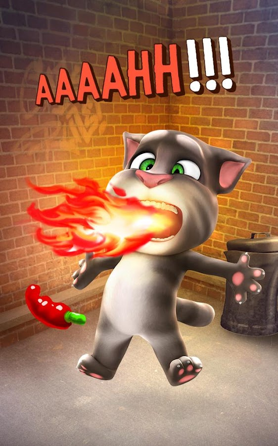 Talking Tom Cat  Poster
