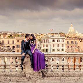 Wedding in Italy by Artur Jakutsevich - Wedding Bride & Groom