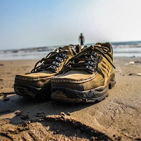 Woodland Shoes by Kapil Shendge - Landscapes Beaches ( shoes, woodland,  )