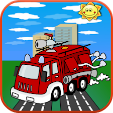 Truck Games For Kids Match