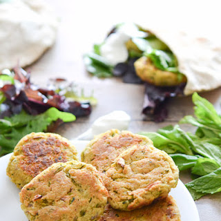 Healthy Chickpea and Zucchini Patties