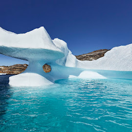 Arctic Caribbean 8 by Fokion Zissiadis - Landscapes Caves & Formations ( polar, glacier, iceberg, greenland, arctic, fjord )