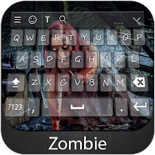Zombie Keyboard Theme
