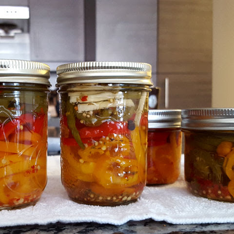 Sweet Quick Pickled Habanero Pepper