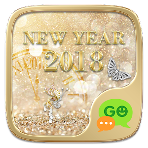 (FREE) GO SMS NEW YEAR 2018 THEME
