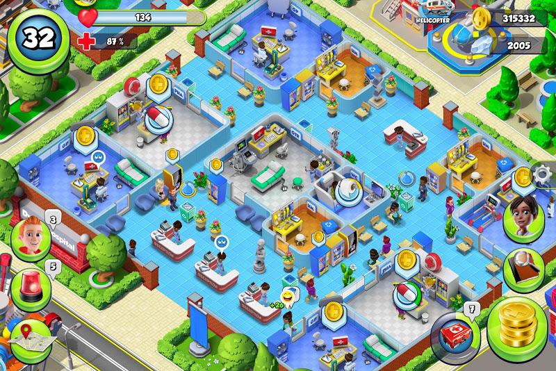 Dream Hospital - Health Care Manager Simulator Screenshot 3