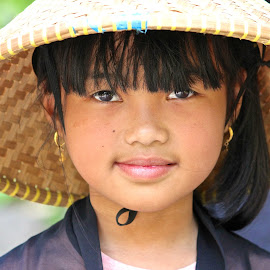 The Bandung Girl by Pearl Gan - Babies & Children Child Portraits ( #portraits, #street candid, #girl, #culture, #indonesia, #bandung, #faces, #documentary, #pearlgan, #photojournalism )