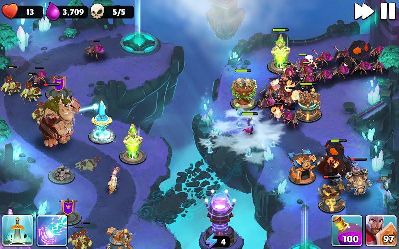 Castle Creeps TD - Epic tower defense Screenshot 16