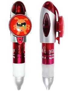 """Игрушка Dooo: """"Reddish Twin"""" Ручка Автоматическая Шариковая - 10 см"""