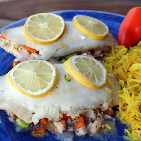 Tilapia Stuffed With Shrimp