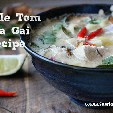 Simple Tom Kha Gai Soup