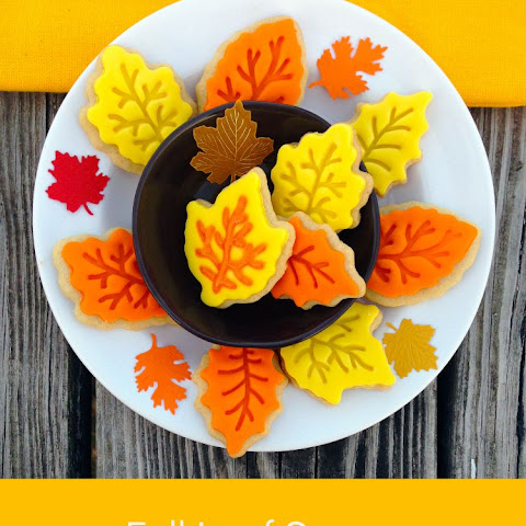 Fall Leaf Sugar Cookie
