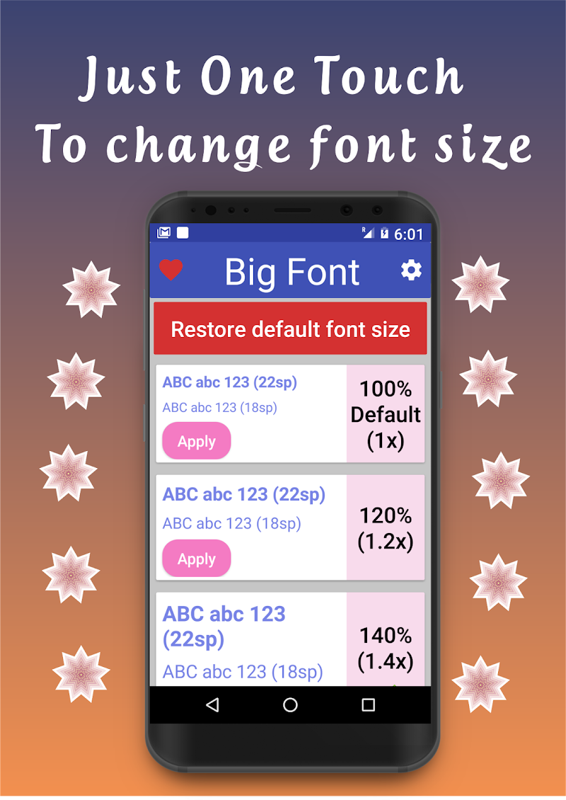 Big Font - Change Font Size & Larger Font Screenshot 5