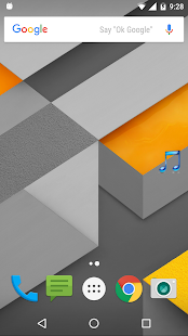 Edge Screen Music player - screenshot