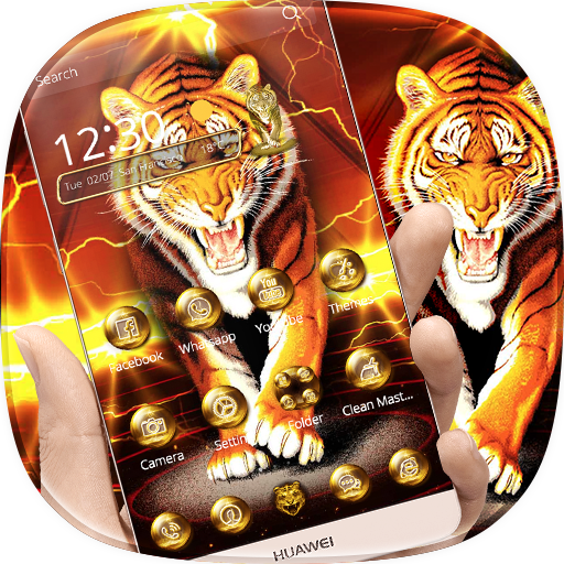 King Tiger Theme Wallpaper