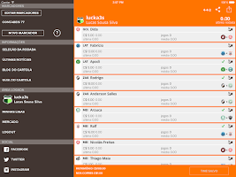 Screenshot of CartolaFC