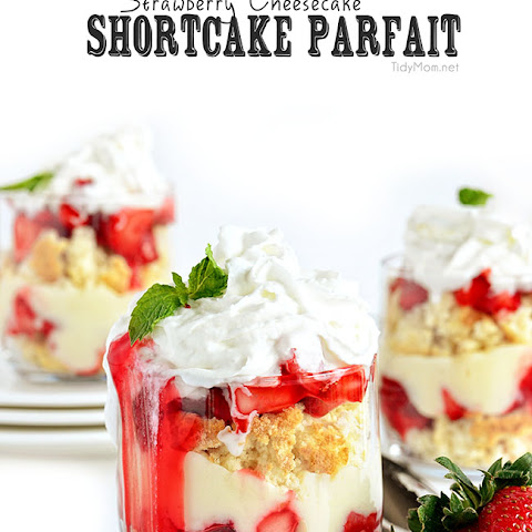 Strawberry Cheesecake Pudding Parfaits Recipe | Yummly