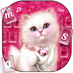 Cute Kitty Keyboard Theme Icon