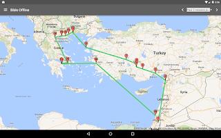 Screenshot of Bible Offline
