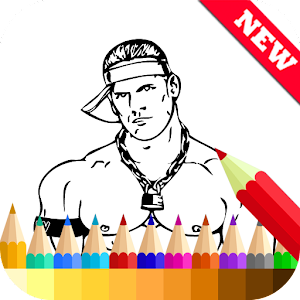 Coloring Book for WWE Fans For PC