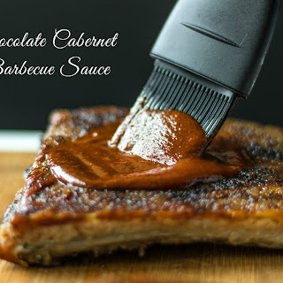 Chocolate Cabernet Barbecue Sauce