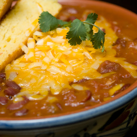 Slow Cooker Turkey Chili with Cabot Jack Cheese