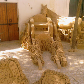 Sand sculptures by Shirley Hayes - Novices Only Objects & Still Life ( sculpture, sand, art, talent, contest, portugal )