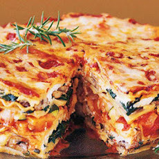 Mile High Veggie Lasagna Pie