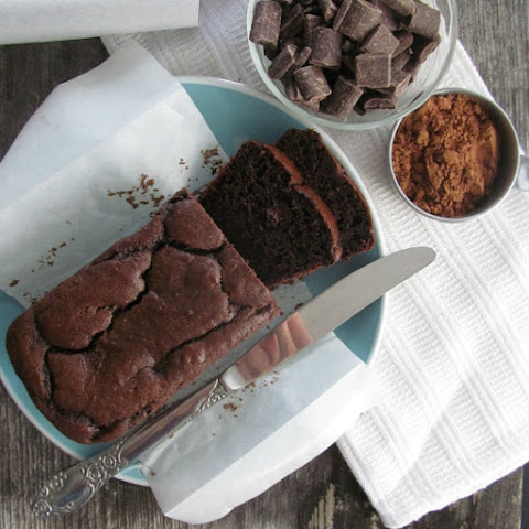 Dark Chocolate Quick Bread